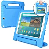Cooper Cases (TM Dynamo Samsung Galaxy Kids Tab A 9.7 (T550) Case in Blue (Lightweight, Non-toxic EVA Foam, Durable Design, Extra Protection, Free Standing)