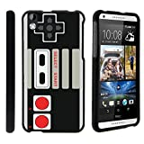 Cheap MINITURTLE Case Compatible w/ Case for HTC Desire 816 , 2 Piece Hard Snap On Case + Screen Protector Film + Black Desire 816 Game Controller