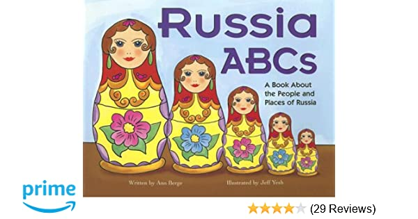 Russia ABCs: A Book About the People and Places of Russia ...