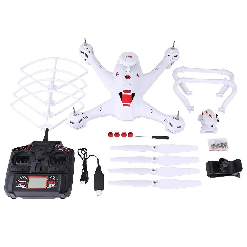 Alomejor RC Quadcopter, Tragbare Drohne mit 720P HD Kamera, Quadcopter mit Höhe halten, EIN Schlüssel Return, WiFi/Phone Control