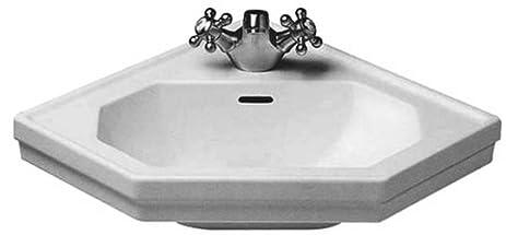 duravit series singlehole corner handrinse basin white finish