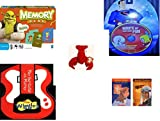 Children's Gift Bundle - Ages 3-5 [5 Piece] - Shrek Forever After Memory Game - Hours of Classic Cartoon Fun DVD - Ty Teenie Beanie Babies - Pinchers the Lobster - The Wiggles Play Your Guitar with