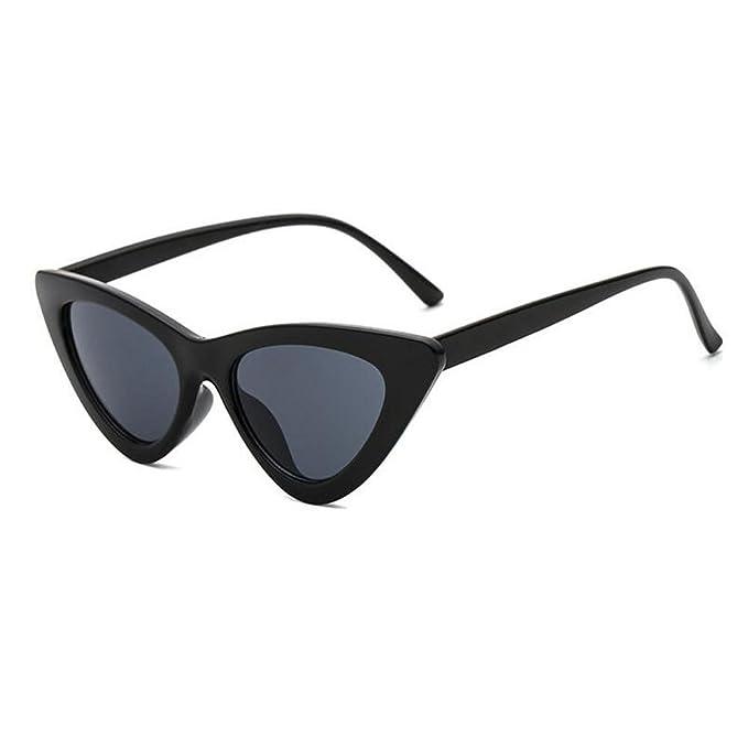 a996f88c52 Hzjundasi Moda Mujer Ojo de gato Gafas de sol Anti-UV Lente Bisagra de  primavera Triangular Marco Retro Gafas al aire libre: Amazon.es: Ropa y  accesorios