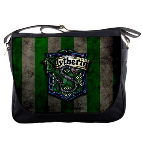 Harry Potter Slytherin Shoulder Messenger Bag