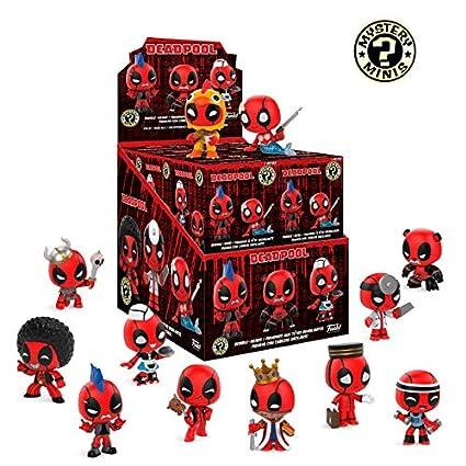 Funko Mystery Minis: Marvel - Deadpool Playtime (one Mystery Figure)