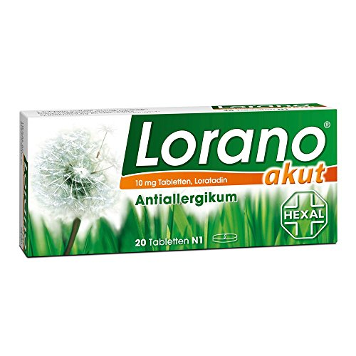 Lorano akut Tabletten 20 stk
