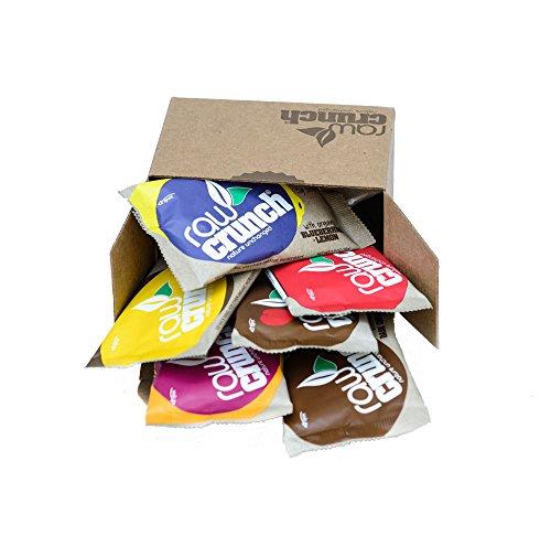 Raw Crunch Bars - Variety Pack - Box of 6 Bars