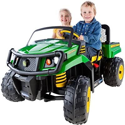 Peg Perego IGOD0063 John Deere Gator XUV 12-volt Battery-Powered 4.5 Mph Speed, 130 Pounds Weight Capacity Ride-On: Toys & Games