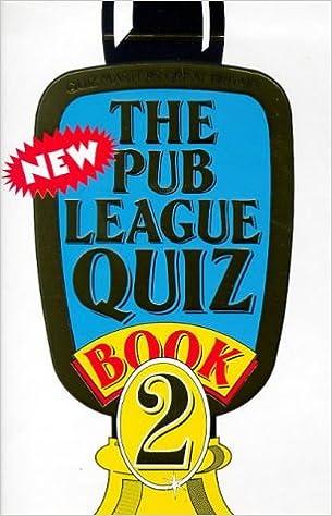 Book The New Pub League Quiz Book: No.2