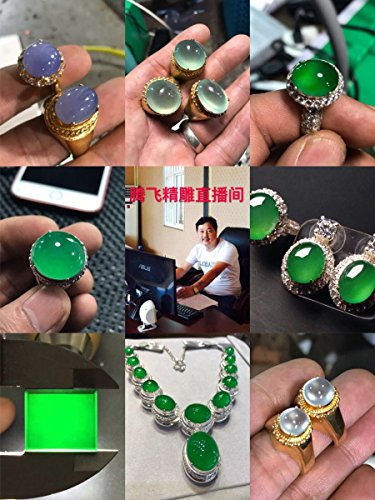 - usongs yuan two stores live off carved jade necklace pendant special film links earrings necklace pendant cabochon post