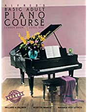 Alfred's Basic Adult Piano Course Lesson Book, Bk 1 (Volume 1)