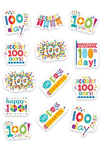 Creative Teaching Press Happy 100th Day Stickers (2111)