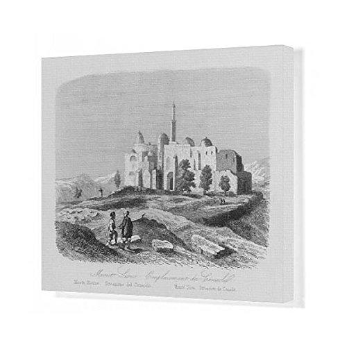 20x16 Canvas Print of View of Mount Zion, Jerusalem (571975) by Prints Prints Prints