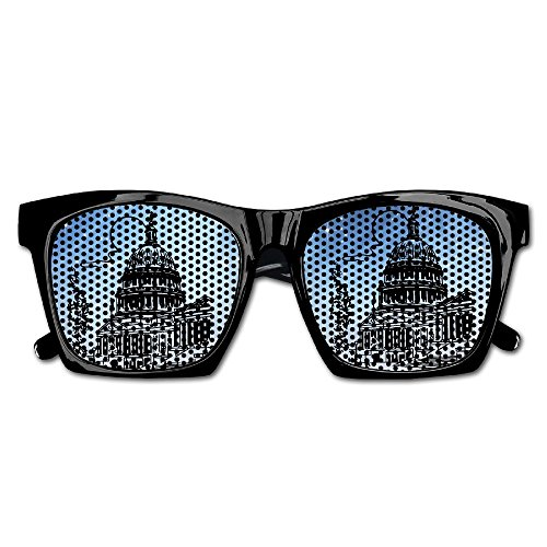 Xing Stars Colorful Summer Unisex Us Capitol Building Retro Clip Art Fashion Party Costume - Clipart Sunglasses