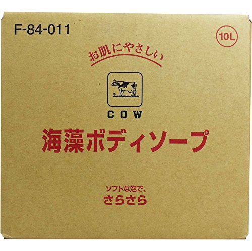 ボディ 石けん詰め替え さらさらした洗い心地 便利商品 牛乳ブランド 海藻ボディソープ 業務用 10L B00W2UQJTW