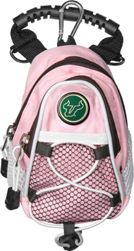 NCAA South Florida Bulls - Mini Day Pack - Pink by LinksWalker