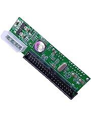 healthwen SATA TO PATA IDE Converter Adapter Plug & Play Module Support 7 + 15 Pin 3.5/2.5 SATA HDD DVD Adapter