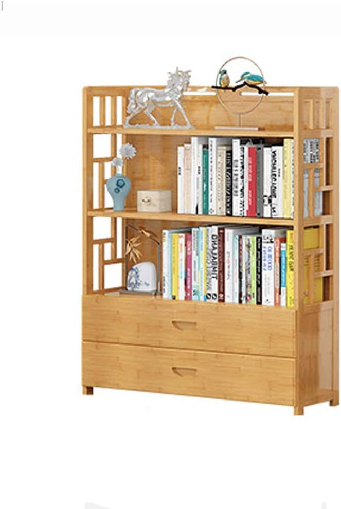 jhsms Solid Wood Open Shelf Bookshelf,Display Rack Multifunctional Better Homes and Gardens Furniture Organizer Storage Bookcases-D 70x25x113cm(28x10x44inch)