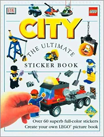 Lego city the ultimate sticker book mary ling 9780789466716 amazon com books