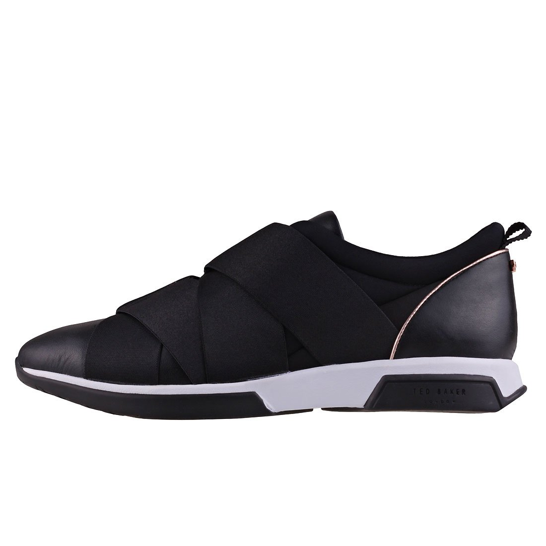 6c41e913f6566 Ted Baker Women's QUEANE Trainers, (Black Blk), 8 (41 EU): Amazon.co ...