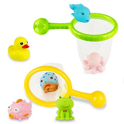 Super cute starter bath toys for babies
