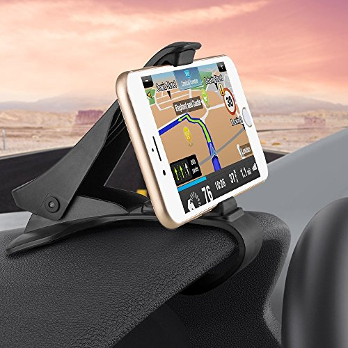 Automobile Installation HUD Smart Phone Global Locator KEKU Adjustable Anti-Skid Support, Safe Driving, Suitable for iPhone X | 8|8plus Samsung Galaxy S8 | S8+ | Note 8 and Most Smart Phones.