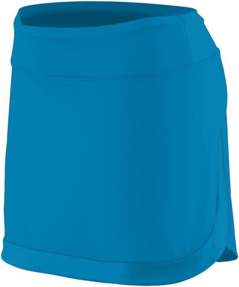 Augusta Sportswear Women's Action Color Block Skort M Power Blue/Power Blue