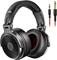 OneOdio Adapter-free DJ Headphones for Studio Monitoring and Mixing,Sound Isolation, 90° Rotatable Housing with Top...