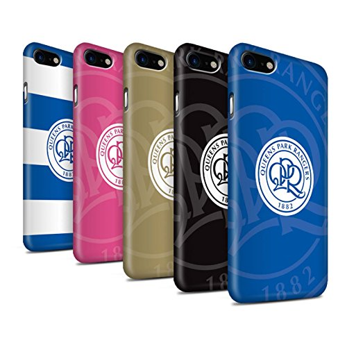 Offiziell Queens Park Rangers FC Hülle / Matte Snap-On Case für Apple iPhone 8 / Pack 11pcs Muster / QPR Fußball Crest Kollektion