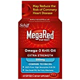 Schiff MegaRed Omega-3 Krill Oil Extra Strength - 500 mg - 60 Softgels
