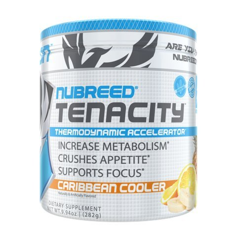 Nubreed Tenacity | Rapid Weight Loss Powder | Caribbean Cooler | 60 Servings