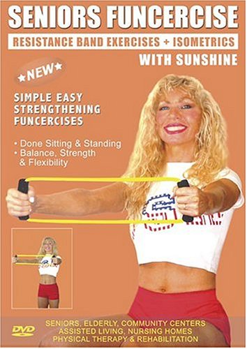 amazon com senior resistance bands exercise dvd for strength