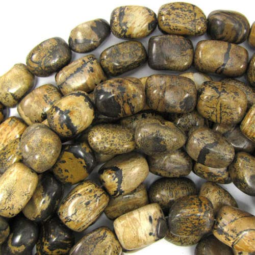 ShopForAllYou Design Making 20mm chohua Jasper Nugget Beads 15