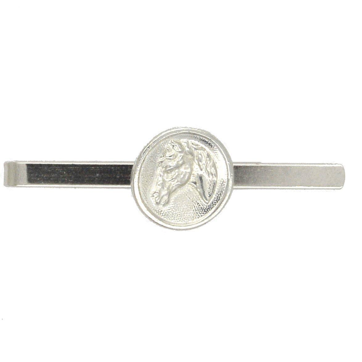 Beautiful American Quarter Horse Tie Clip (Slide/Bar), Handcast by William Sturt