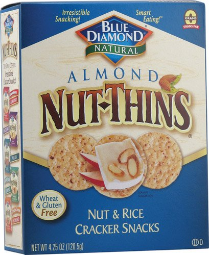 Almond Nut-Thin Crackers 4.25 Ounces (12 Boxes of 4.25oz)