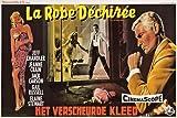 TATTERED DRESS film noir movie poster jeff CHANDLER jeanne CRAIN sexy 24X36 (reproduction, not an original)