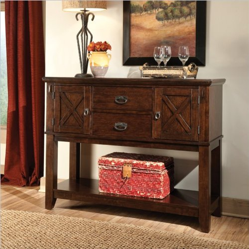 Standard Furniture 11902 Sonoma Sideboard with Two Drawers and Two