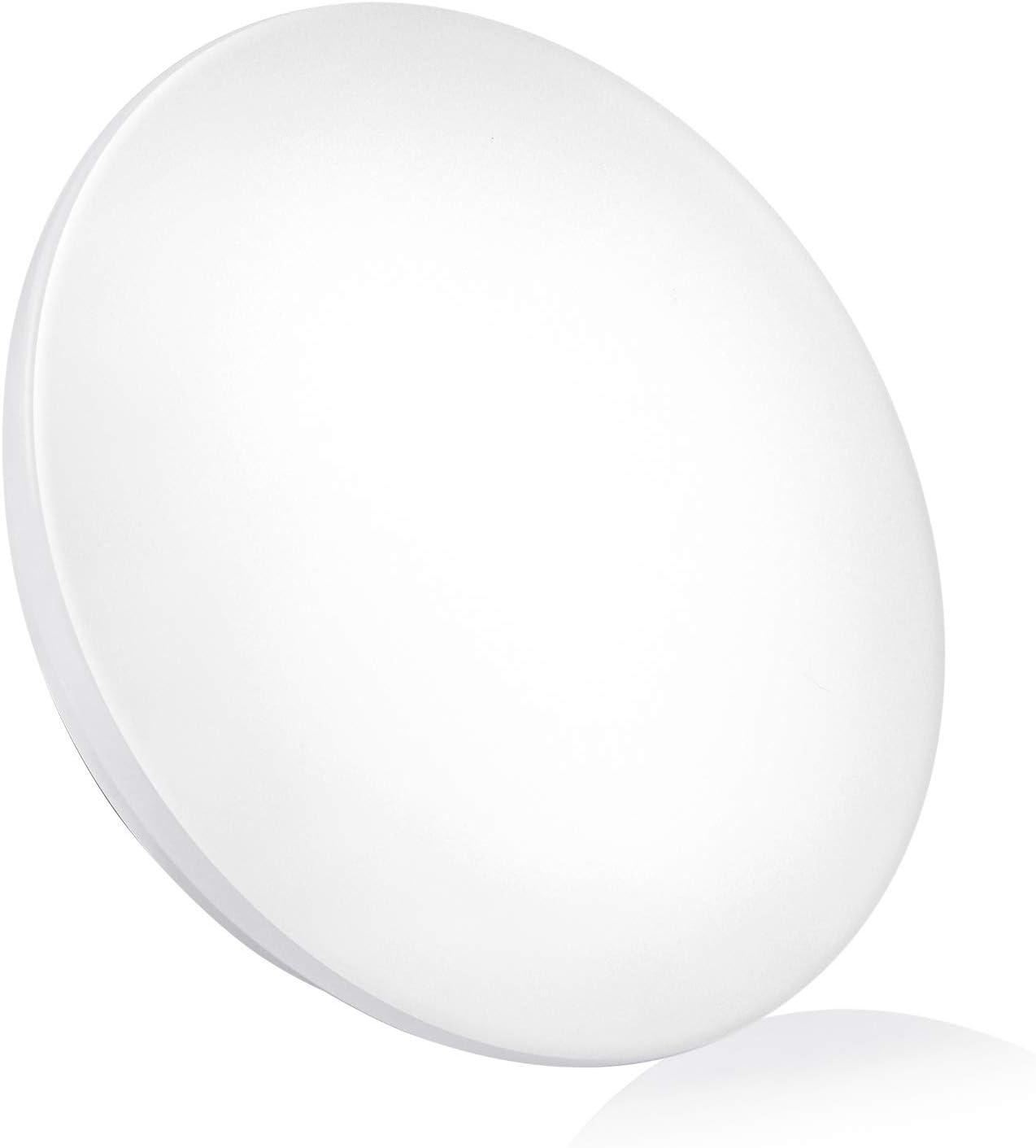 "LED Ceiling Light Flush Mount, 1,350LM 15W Ceiling Lamp, 10"" Round Lighting Fixture, 25,000H Lifetime, Warm White 3,000K Soft White, IP44, CRI90+ for Bedroom, Kitchen, Bathroom, Hallway by BRILLIRARE"