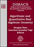 img - for Algorithmic and Quantitative Real Algebraic Geometry book / textbook / text book
