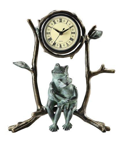 Frog & Froglet Desk Clock (Frog Desk Clock)