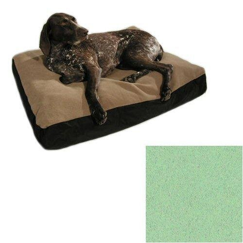 Big Shrimpy Original Dog Bed in Aqua (Aqua, X-Large (47in x 59in))