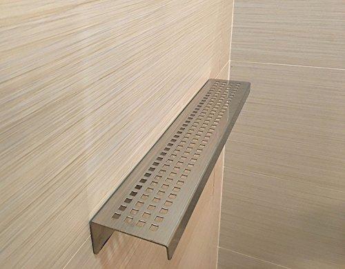 Royal Stainless Steel Shelf Rectangular by Serene Steam (...