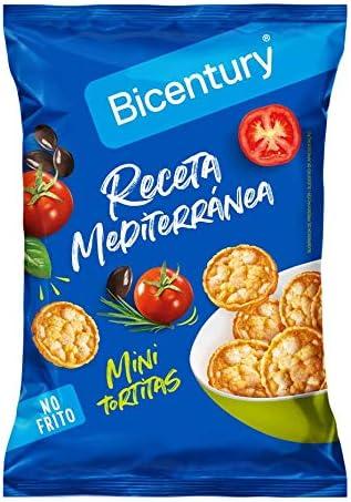 Bicentury Mini Tortitas Producto de Aperitivo, Sabor ...