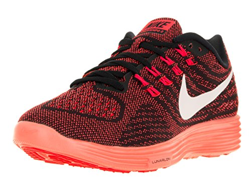 Nike Wmns Lunartempo 2, Zapatillas de Running Para Mujer Naranja (Brght Crmsn / White-Blk-Brght Mn)