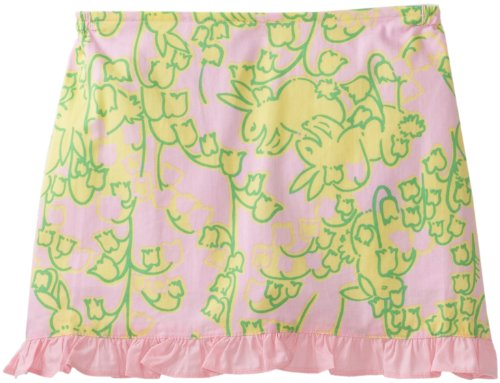 Lilly Pulitzer Little Girls' Mini Callie Scooter Skirt, Pink, X-Small