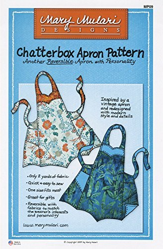 Chatterbox Reversible Apron Pattern by M - Reversible Apron Pattern Shopping Results