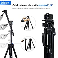 Albott 70 Inch Digital SLR Camera Aluminum Travel Portable Tripod Monopod with Carry Bag from Albott