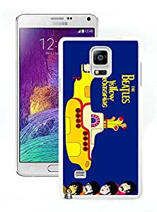 Samsung Galaxy Note 4 beatles yellow submarine White Screen Phone Case Personalized and Popular Design