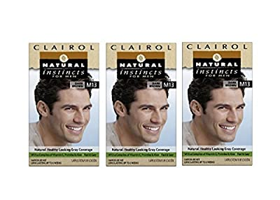 Clairol Natural Instincts Hair Color For Men M11 Medium Brown 1 Kit