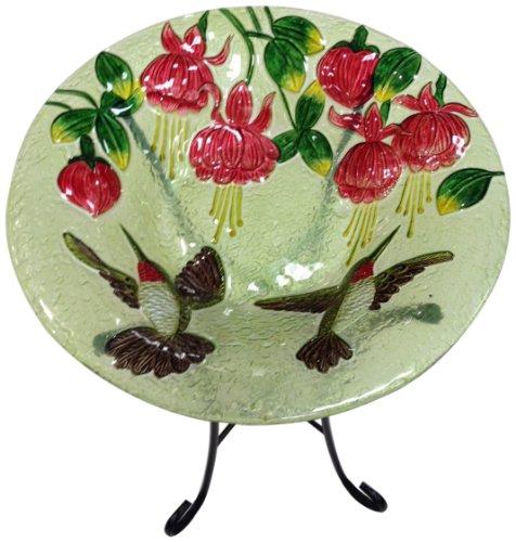 Continental Art Center CAC2607310 Bird Bath Glass Bowl, 1...